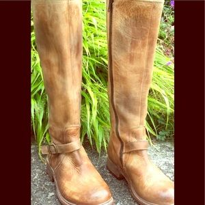 Bed Stu tall motorcycle boots-